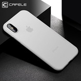 White Matte Anti-Fingerprint Ultra Thin iPhone X Case